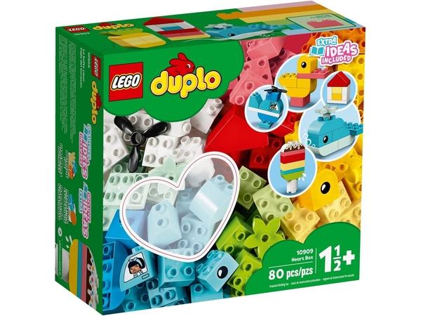 【愛吾兒】LEGO 樂高 duplo得寶系列 10909 心型盒