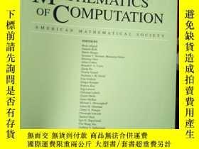 二手書博民逛書店Mathematics罕見of Computation VOLU