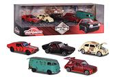《 美捷輪 Majorette 》美捷輪小汽車 - 鐵鏽感復古車款豪華組五入組 / JOYBUS玩具百貨