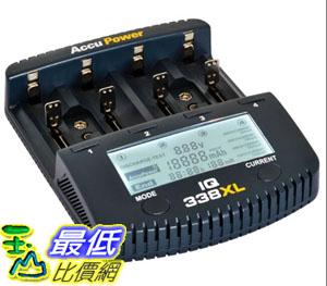 [9美國直購] AccuPower 電池充電器測試儀 IQ338XL Battery Charger Tester Li-ion NiMH NiCd AA AAA C D 9V 18650