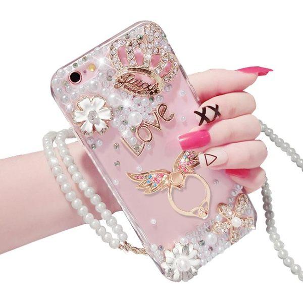 iphone6手機殼蘋果6plus水?保護套6s硅膠防摔外殼個性支架掛繩女禮物限時八九折
