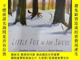 二手書博民逛書店Little罕見Fox in the Snow 雪中的小狐狸 令