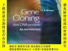 二手書博民逛書店英文原版Gene罕見Cloning and DNA analys
