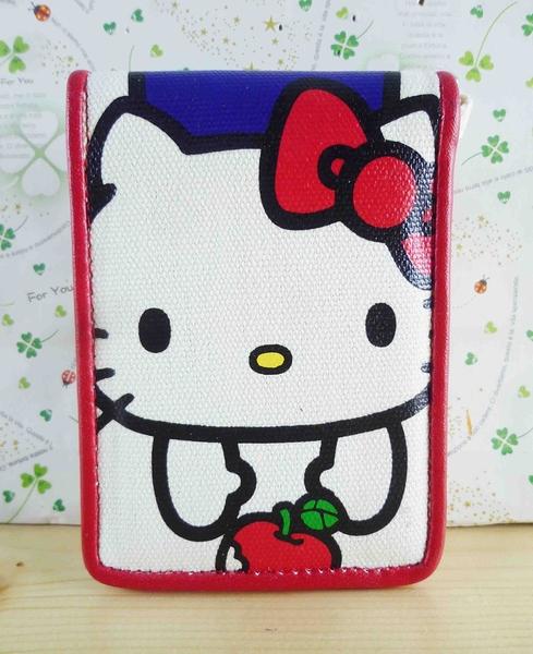 【震撼精品百貨】Hello Kitty 凱蒂貓~KITTY摺疊證件套-蘋果