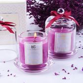 香氛蠟燭 浪漫香薰蠟燭精油香薰玻璃杯蠟燭無煙精美禮盒送禮 QG1579『樂愛居家館』