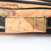 琴包個性地圖圖案21/23寸/26加厚加厚雙肩包琴包  米希美衣