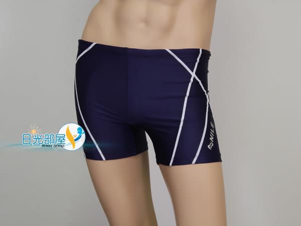 *日光部屋* Nile (公司貨)/ NLA-0204E-NWT 大尺寸運動休閒四角泳褲(日本品牌/3XL~5XL)