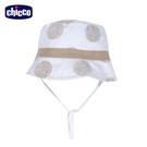 chicco-皇家時尚-印大圓圈圓邊帽