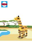 【Tico 微型積木】T-9519 長頸鹿