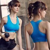 運動內衣 運動內衣女防震跑步聚攏背心式學生健身大碼定型無鋼圈防下垂文胸   霓裳細軟
