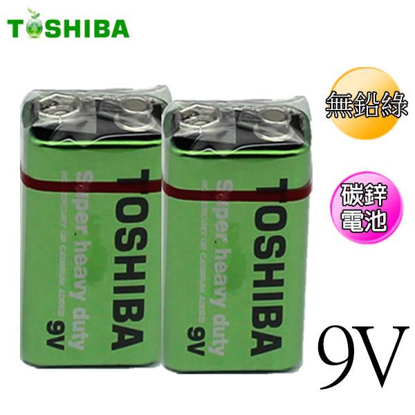 東芝Toshiba 9V 碳鋅電池 1入