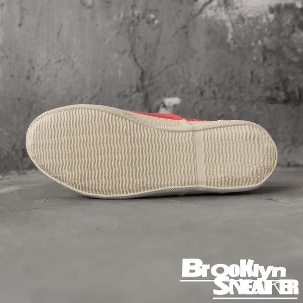 PONY 橘紅 帆布 休閒鞋 基本款 運動 復古 女 (布魯克林) 62W1SL62CR