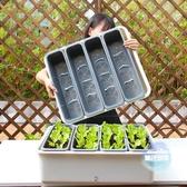 無土栽培設備 陽台種菜神器家庭種菜盆室內省空間組合懶人種植花盆長方形 特大T