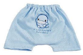 【奇買親子購物網】酷咕鴨KU.KU. 春夏練習短褲-L(藍色/粉色)