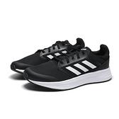 ADIDAS 慢跑鞋 GALAXY 5 黑白 三線 網布 輕量 運動 女(布魯克林) FW6125