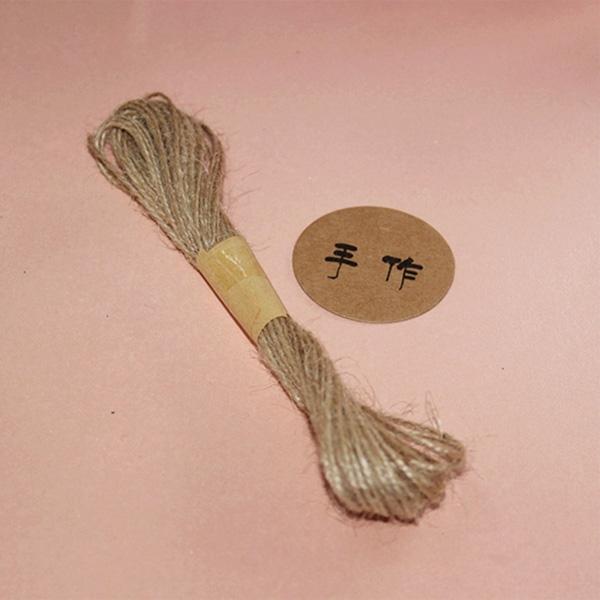 【BlueCat】手作DIY天然麻繩 包裝繩 (10米)