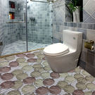 衛生間地墊浴室防滑墊衛浴pvc泡沫地毯吸水腳墊子廁所加厚大防水【全館88折免運】