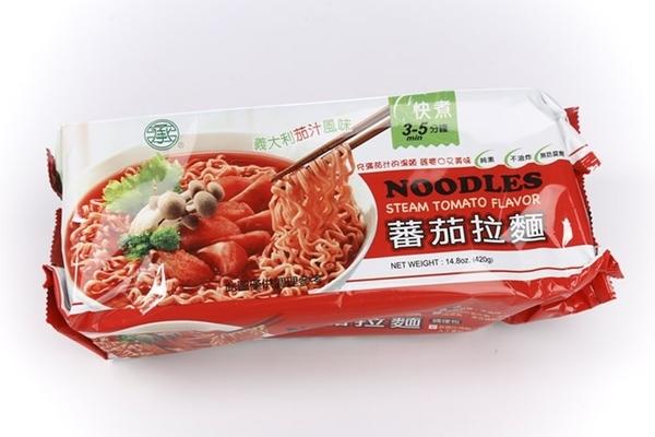 承昌~蕃茄拉麵420公克/包 (4片裝)