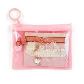 【震撼精品百貨】Hello Kitty 凱蒂貓~三麗鷗~束帶&夾鍊組*56350