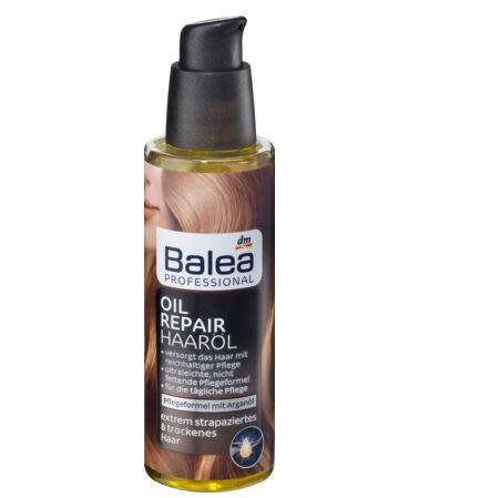 德國Balea芭樂雅 摩洛哥堅果油深層修護受損護髮油100ml