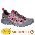 【MERRELL 美國】CHOPROCK SHANDAL 男水陸兩棲鞋 灰/紅 033539 功能鞋.多功能鞋.登山鞋