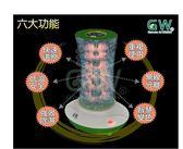 110V台灣專用 現貨 GW水玻璃直筒旋風式直筒除濕機(1+4+1) ADE-335CF-006