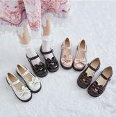 娃娃鞋 新款日系jk軟妹小皮鞋女復古學院風可愛蝴蝶結Lolita娃娃單鞋 - 風尚3C