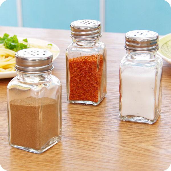 廚房玻璃調味瓶 燒烤調料瓶 調料罐 胡椒粉瓶 袋裝鹽調味罐
