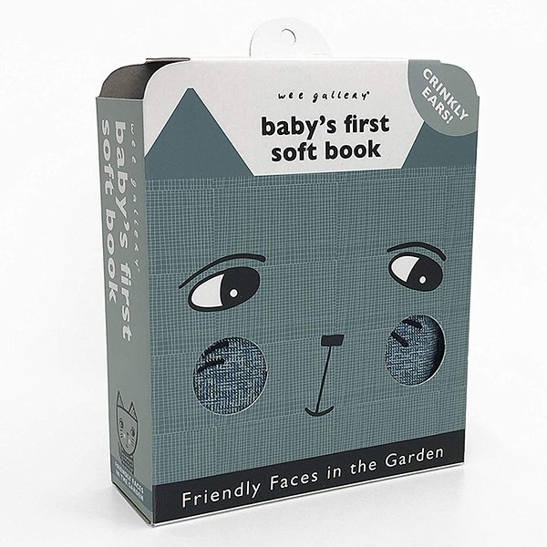 Friendly Faces In The Garden:Baby's First Soft Book 花園動物布書