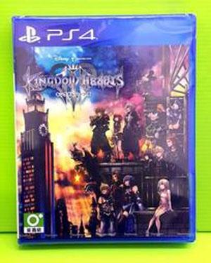 PS4 王國之心 3 亞版 日文版 首批初回版
