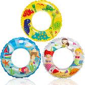 6~10歲使用 兒童充氣游泳圈  泳池浴缸玩水學游泳  橘魔法Baby magic 現貨 泳圈