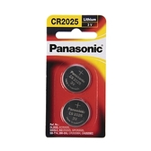 panasonic 鋰鈕扣電池 CR-2025TW/2B
