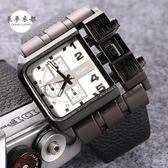 手錶 手錶新品潮流大盤手錶歐美嘻哈風格創意概念手錶潮錶3364【全館免運好康八折】