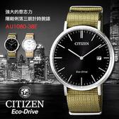 【公司貨保固】CITIZEN 星辰表 Eco-Drive 光動能男錶 40mm/金城武/AU1080-38E