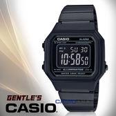 CASIO卡西歐 手錶專賣店 國隆 B650WB-1B 電子男錶 不鏽鋼錶帶 黑 防水 全自動日曆