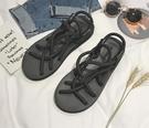 FINDSENSE品牌 男 時尚 潮 休閒 麻繩 涼鞋拖鞋 沙滩拖鞋