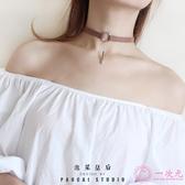 項鍊choker鎖骨項鍊女短款頸帶脖頸飾品項圈項鍊頸項鍊