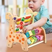 兒童繞珠玩具1-2-3一歲半益智女孩寶寶大號串珠男孩智力積木嬰兒