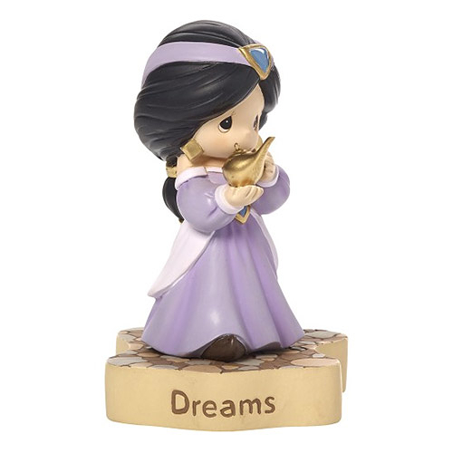 《Precious Moments》DISNEY迪士尼茉莉公主水滴娃娃夢想成真塑像-Dreams Really Do Come True_PX10012