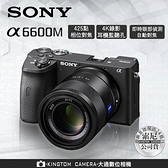 SONY A6600M α6600 SEL18135變焦鏡頭 公司貨 再送128G高速卡+專用電池+座充+相機包