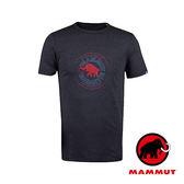 【MAMMUT 長毛象】Mammut Garantie 男 短袖 圓領印花T恤『石墨灰』1041-07970 短袖透氣運動服