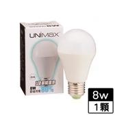 UNIMAX LED燈泡-白光(8W)【愛買】