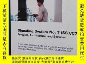 二手書博民逛書店Signaling罕見System No.7(SS7 C7)Y2