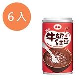泰山 牛奶紅豆 330g (6入)/組【康鄰超市】