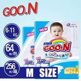 【GOO.N 】日本境內 最新款 大王尿布 (M) 1箱-共4包