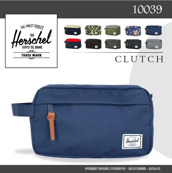 Herschel 萬用收納包大容量休閒包 CHAPTER 隨身物品收納包萬用包 反車拉鏈10039 經典手拿包化妝包