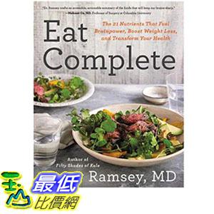 2019 美國得獎書籍 Eat Complete: The 21 Nutrients That Fuel Brainpower, Boost Weight Loss, and Transform Your Health