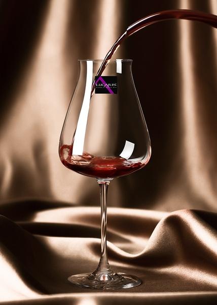 泰國Lucaris Desire系列 Robust Red 700mL 紅酒杯 五旋紋 無鉛水晶玻璃 高腳杯