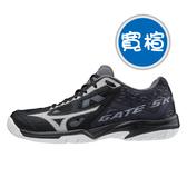 MIZUNO GATE SKY PLUS 寬楦 基本款羽球鞋 黑 71GA204009 20FWO