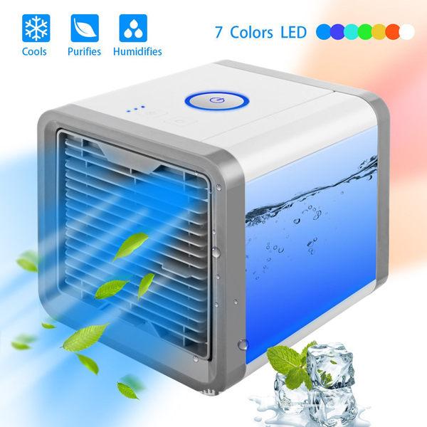 迷你冷風機 Arctic Air cooler TV 冷氣機usb充電迷你小風扇artic便攜式空調 摩可美家